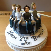 The Vamps Cake   The Vamps Cake.For a friends little boy, who loves, The Vamps and playing the drums. Hope you like it. xfacebook.com/TheCakeNook