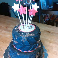 Tire Cake fondant covered