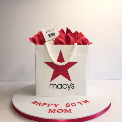 Macy's Shopping Bag Cake