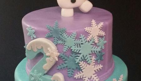Pleasant Frozen Birthday Cake Decorating Photos Birthday Cards Printable Benkemecafe Filternl