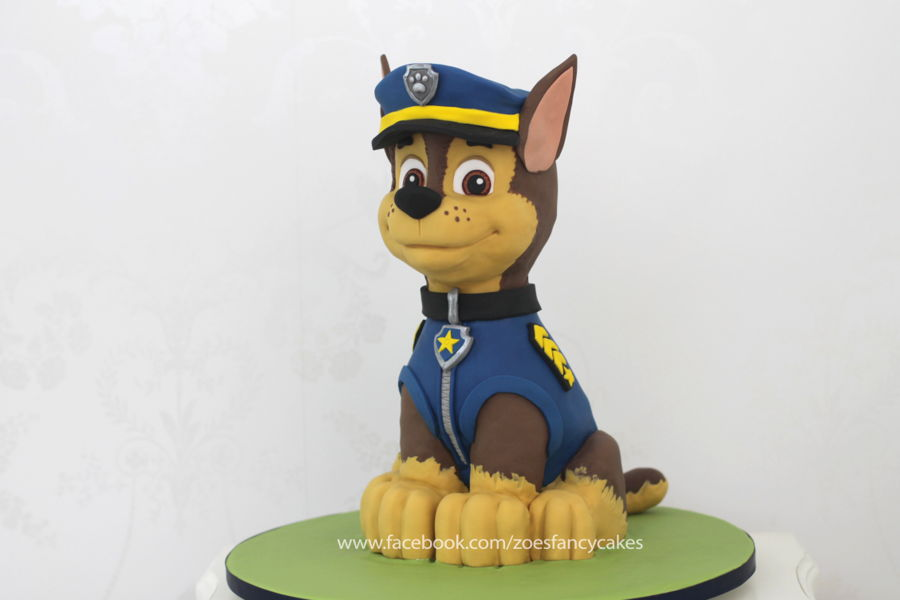 3D Chase Cake Paw Patrol on Cake Central