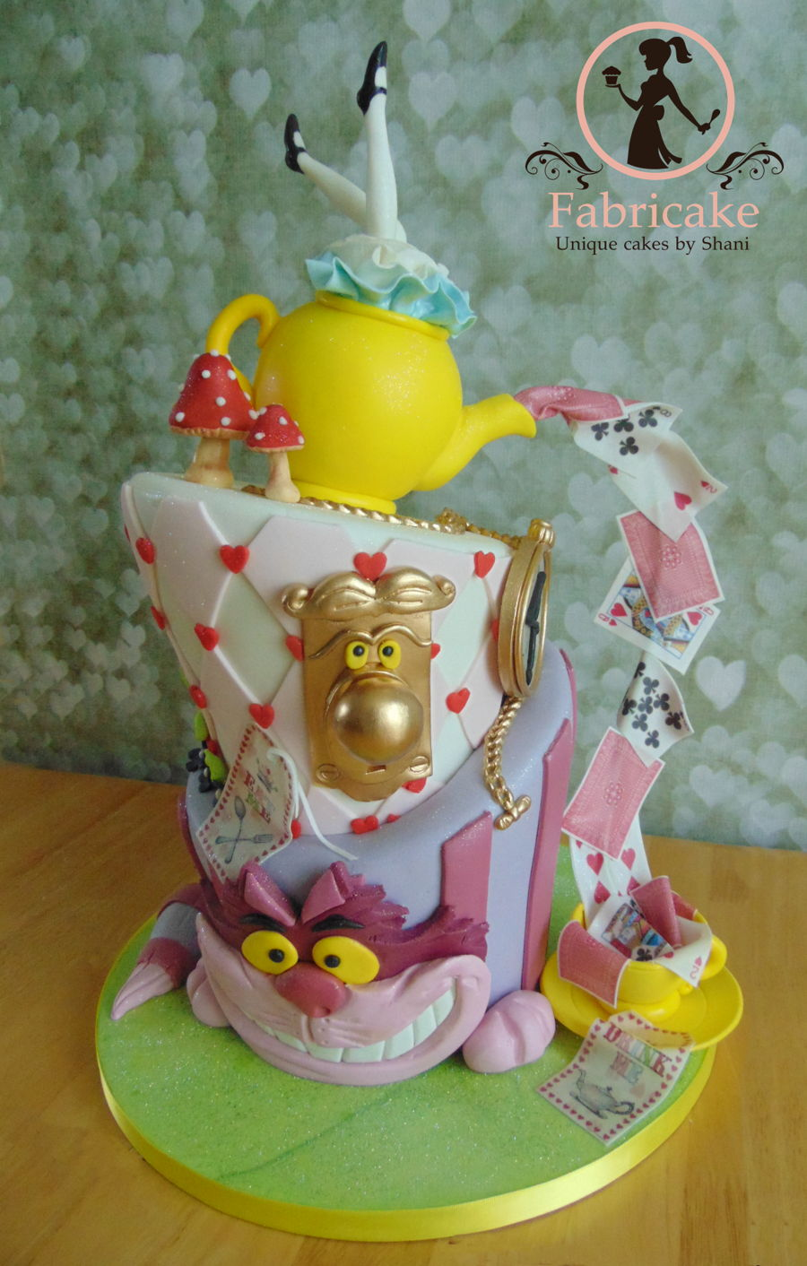 Alice In Wonderland Cake Cakecentral Com