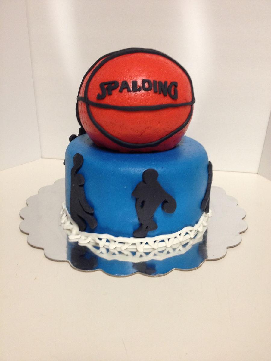 Basketball Birthday Cake Cakecentral