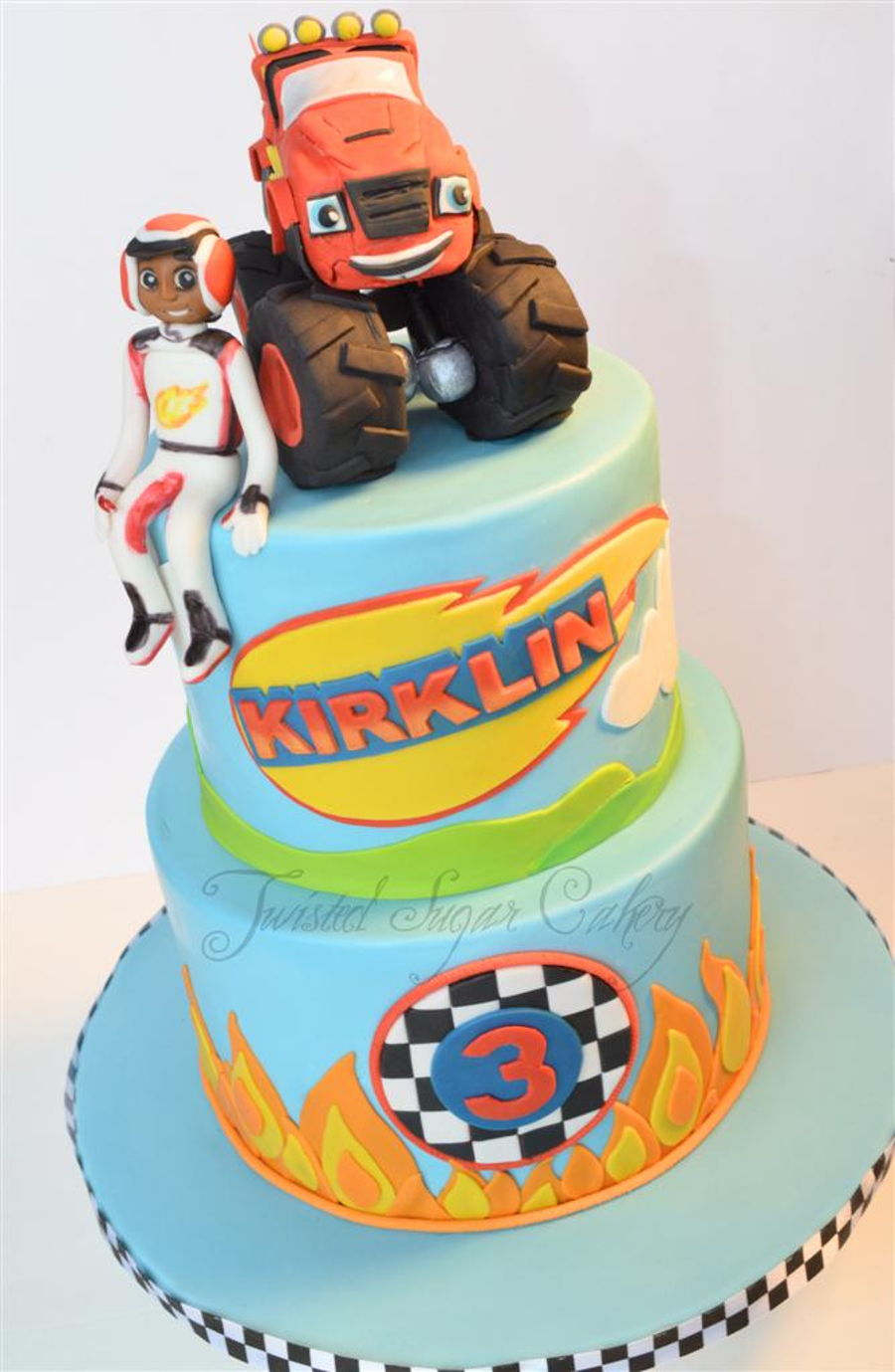 Blaze And The Monster Machines Cakecentral Com