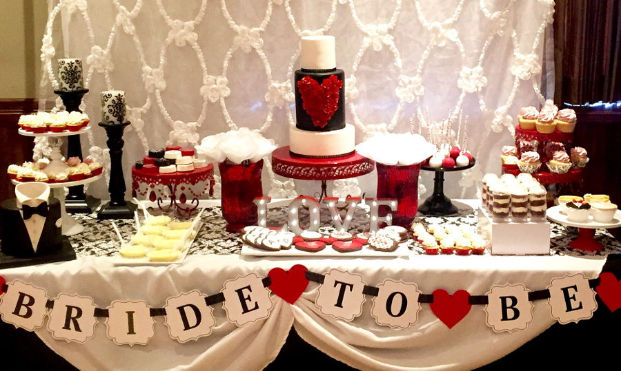 Bridal Shower Sweet Table Cakecentral Com