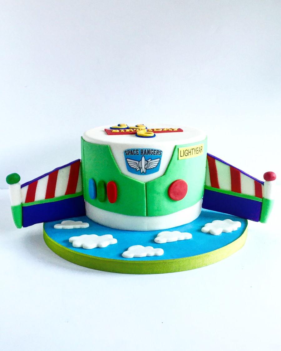 Toy Story Fondant Cake