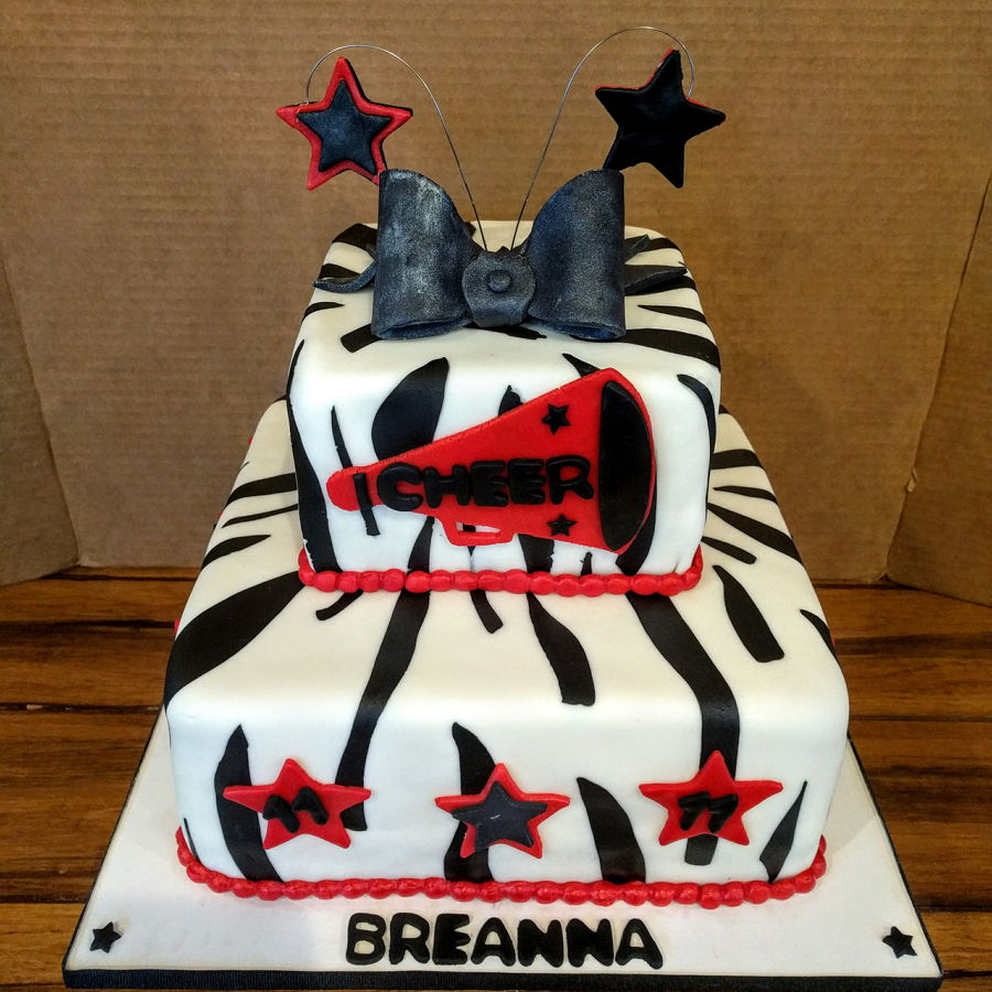 Cheerleader Birthday Cake - CakeCentral.com