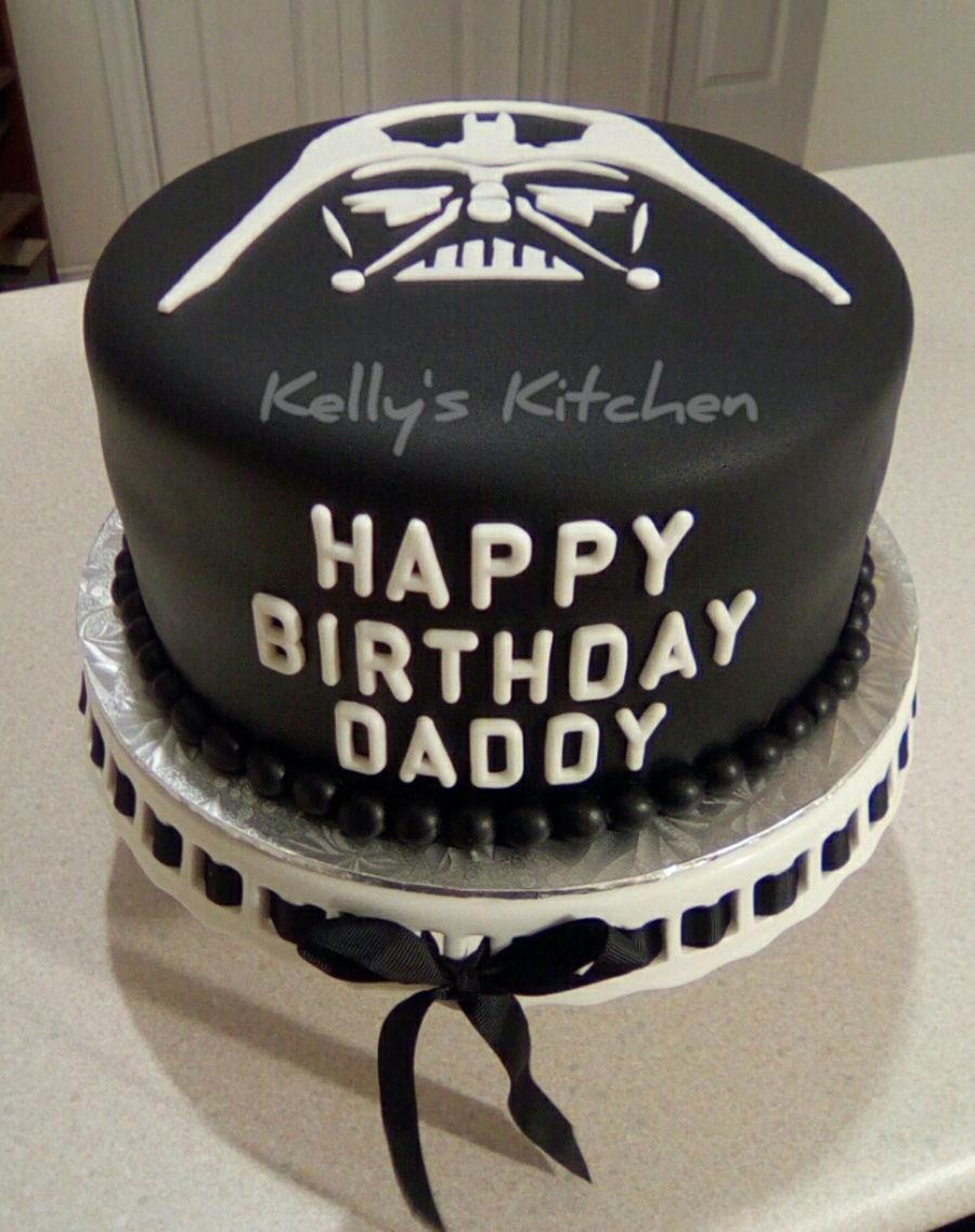 Wondrous Darth Vader Birthday Cake Cakecentral Com Birthday Cards Printable Trancafe Filternl