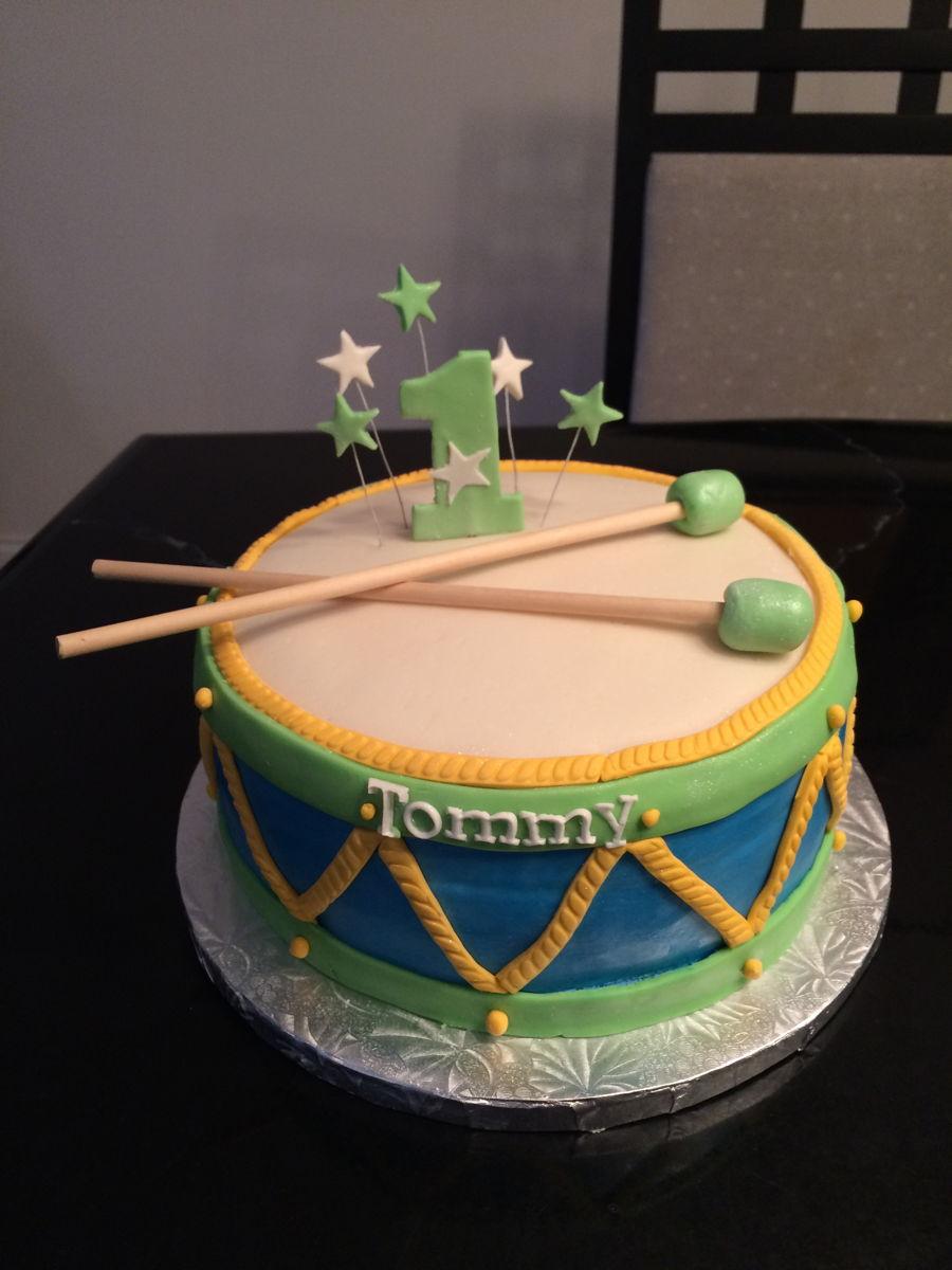 Drum Cake - CakeCentral.com