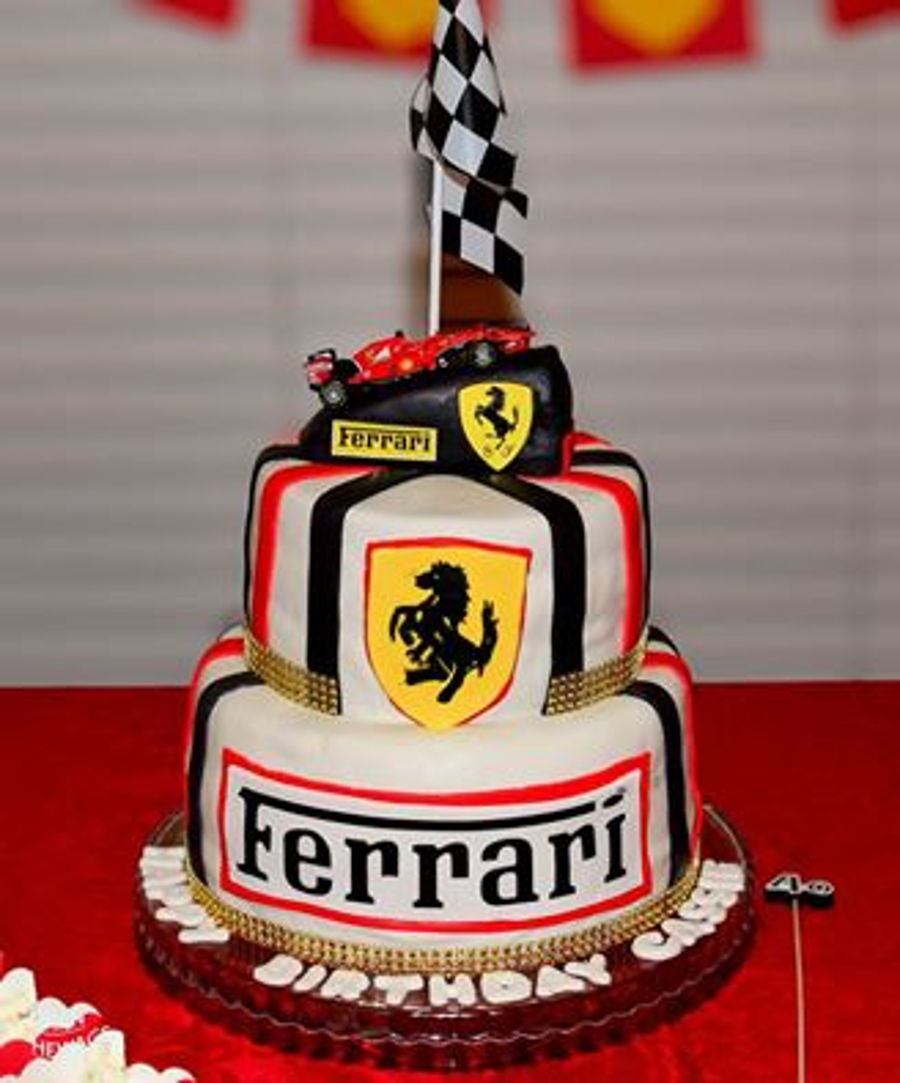 Ferrari Birthday Cake On Central