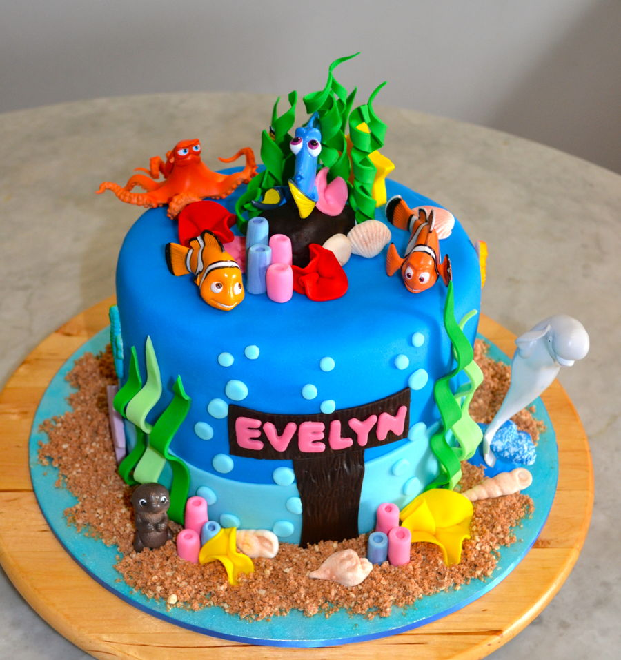 Finding Dory Cakecentral Com