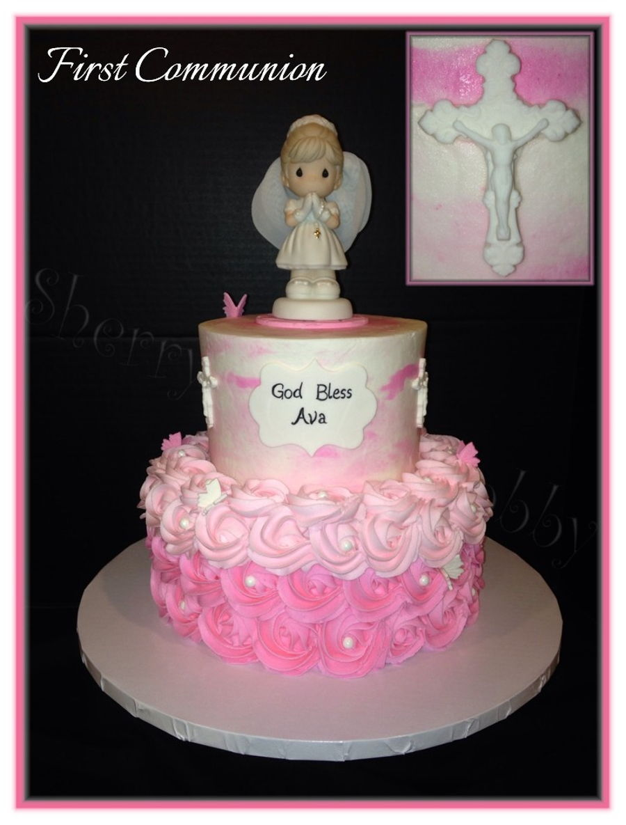Precious Moments First Communion Cake Topper