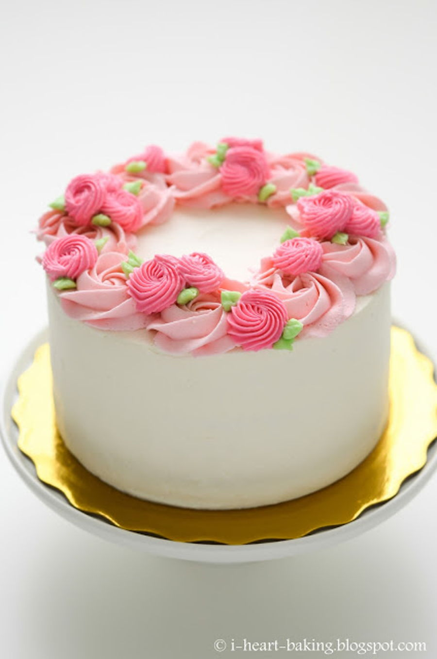 Floral Wreath Cake For Mother S Day Cakecentral Com