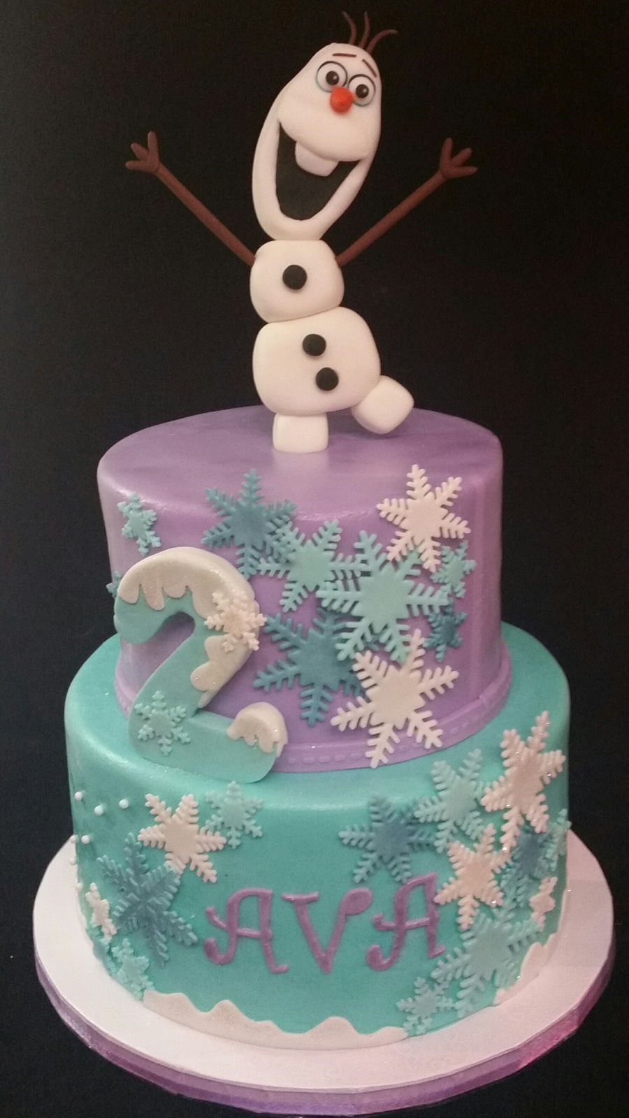 Frozen 2nd Birthday Cakecentral Com
