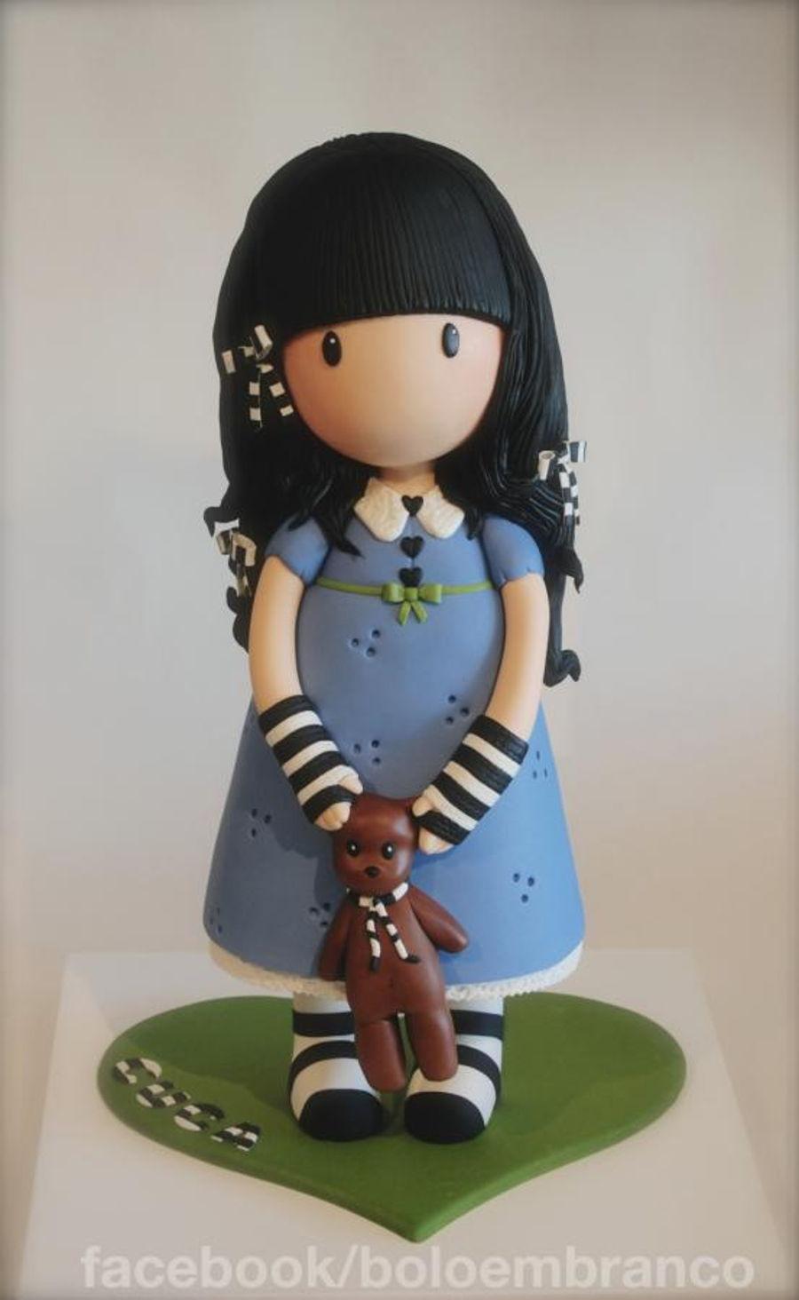 Gorjuss Cake Doll 3d Cakecentral Com