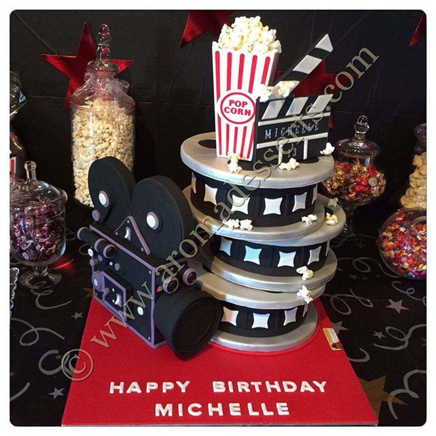 Hollywood Movie Theme Cake Cakecentral Com