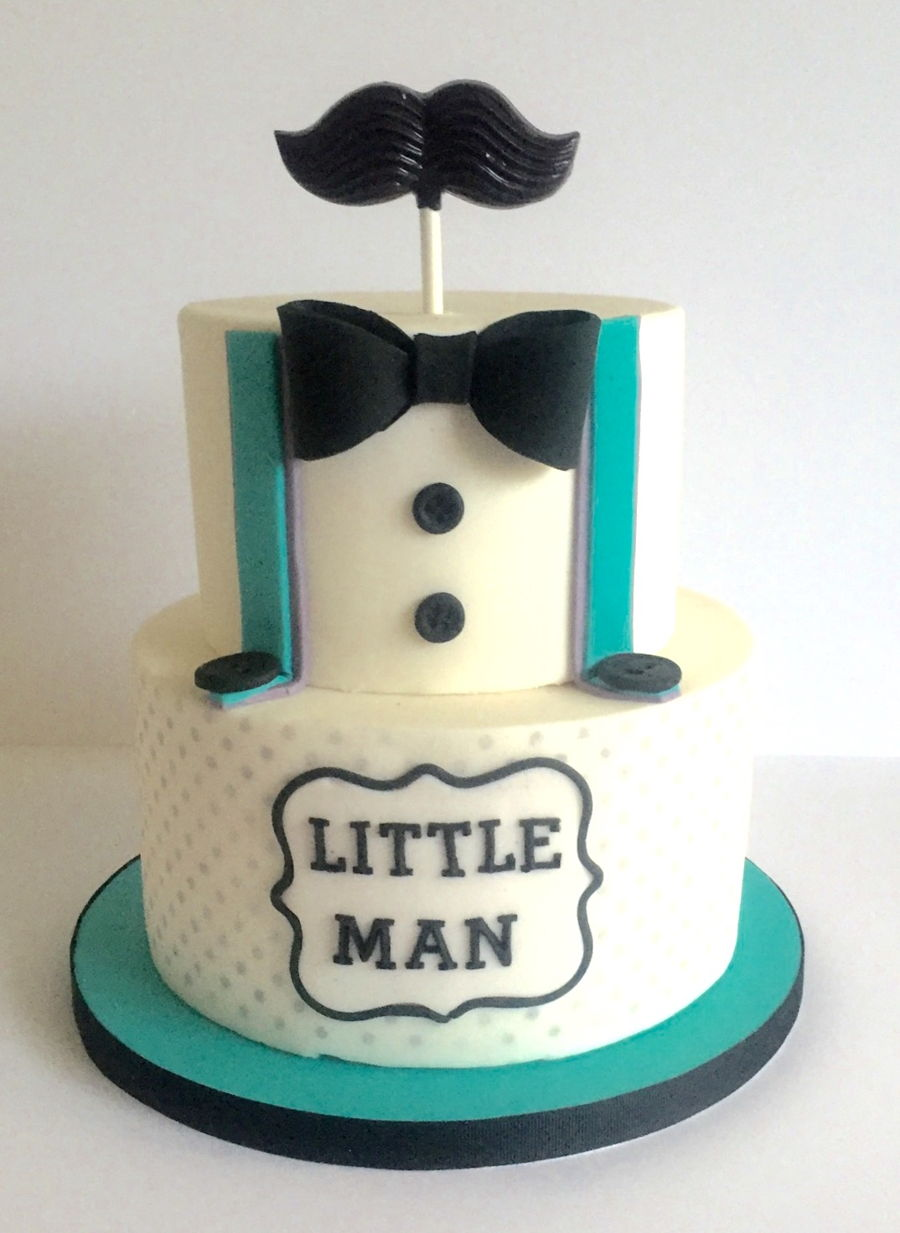 Little Man Baby Shower Cake Cakecentral Com