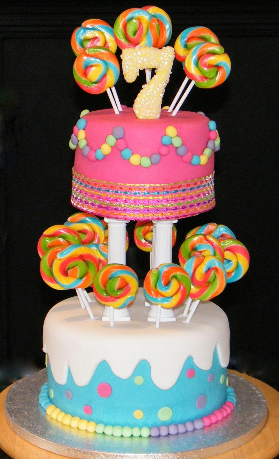 Lollipop Cake Cakecentral Com