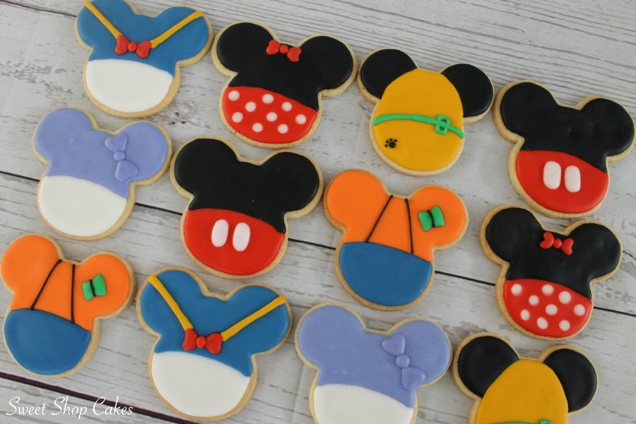 Mickey Mouse Clubhouse Sugar Cookies Cakecentral Com