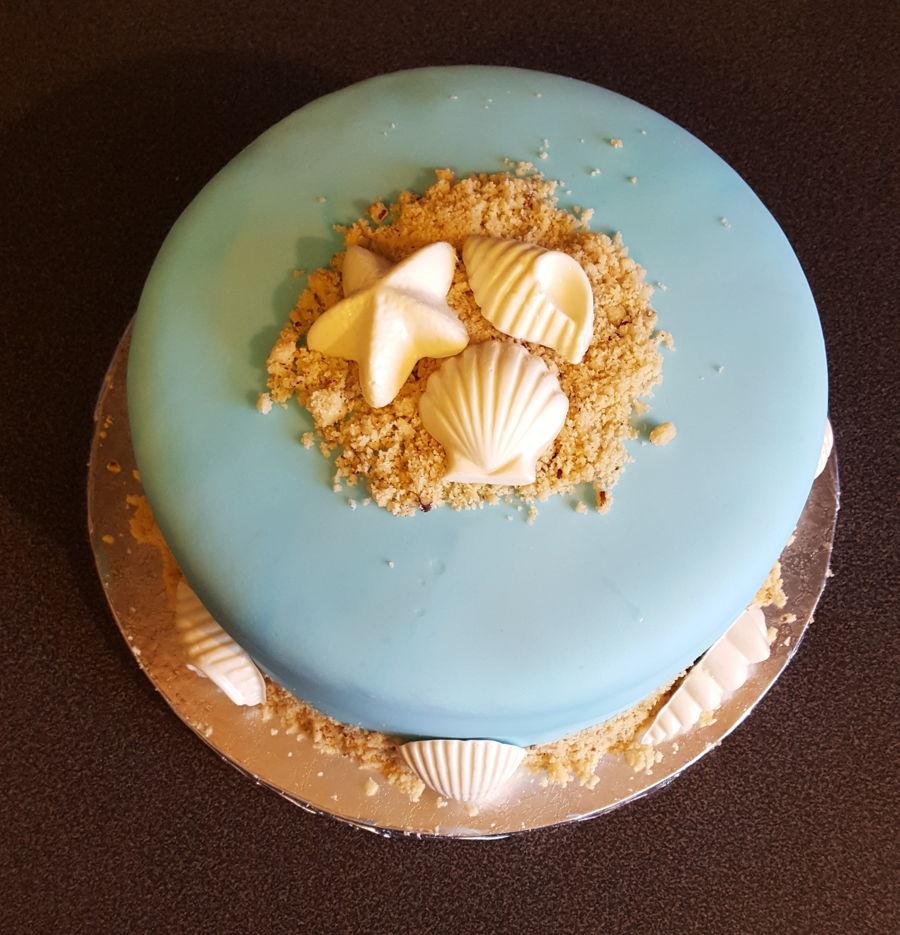 Seashell Cake Cakecentral Com