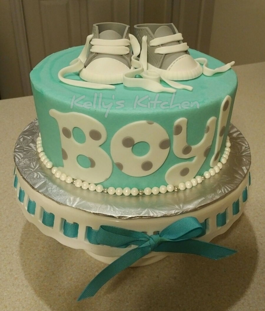 simple baby shower cake cakecentral com