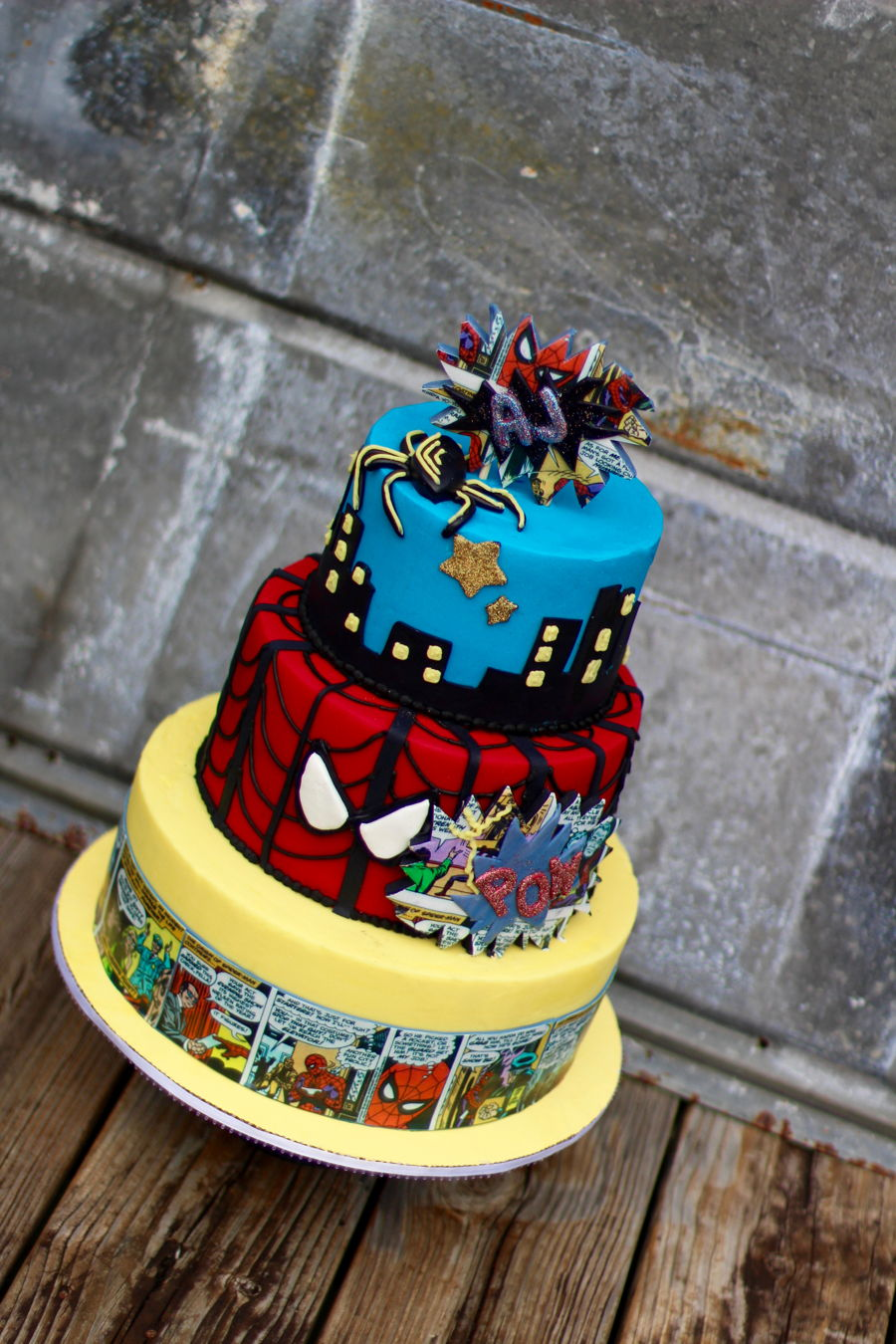 Cake Central Edible Images : Spiderman - CakeCentral.com