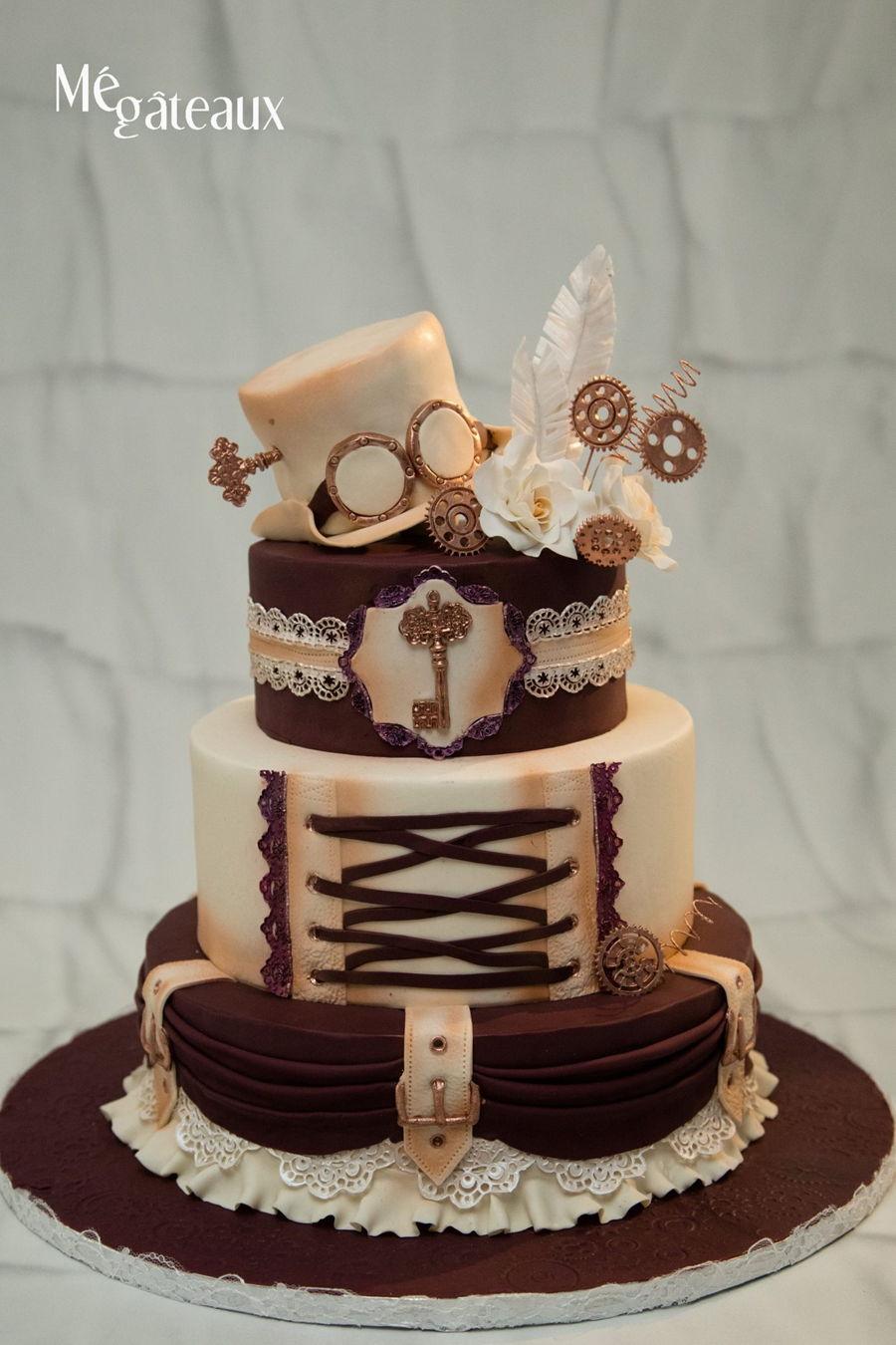Vintage Wedding Cake Decorations