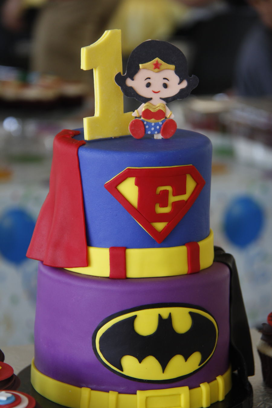 Superheroes Cakecentral