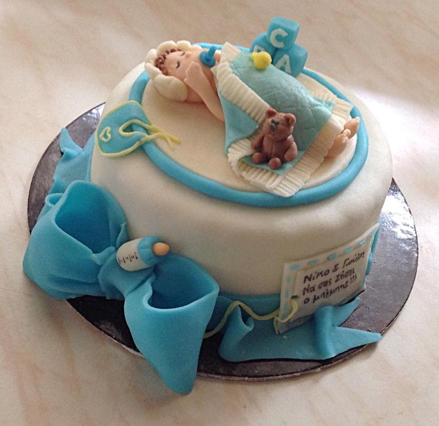 Baby Welcome Cake Images : ru boy baked images - usseek.com