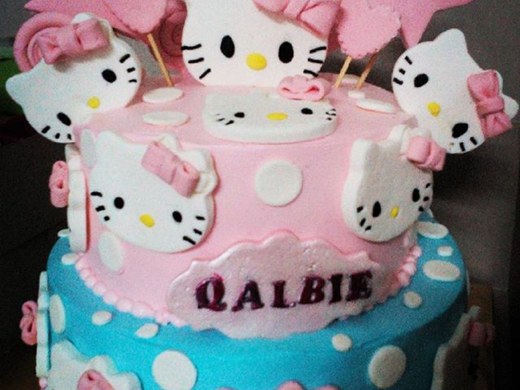 Hello Kitty 2 Tier Cake Cakecentral