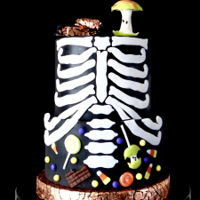 A Sweet Halloween A cake for my littles. Happy Halloween!