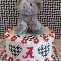 Alabama Roll Tide Fan Alabama Cake