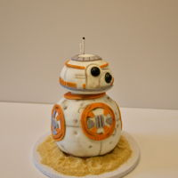 Bb8 Birthday Cake   For my husband in his Birthday!