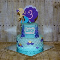 Mermaid Birthday Cake Birthday Cake