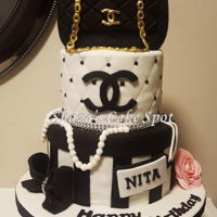 Chanel Birthday Cake 40th birthday cake