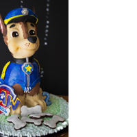 Chase Paw Patrol   Natural Food color cake gluten free dairy free