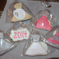 Couture Dress Cookies   Made these for my niece Chelsea's College Graduation