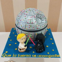 Death Star Death star cake from Star Wars