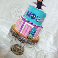 Do You Remember Boo?   Here is her cake! Hand crafted cake topper