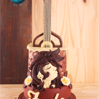 Fado In Chocolate - Music Around The World (Cake Notes) Collaboration This is my piece on the Music Around the World – Cake Notes collaboration.The music I choose was Fado, most wonderful portuguese...