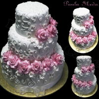 Flowers Cake ! Bolo floral !