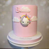 I Believe In Unicorns   I believe in Unicorns | Cake stand by Coco&Baunilha