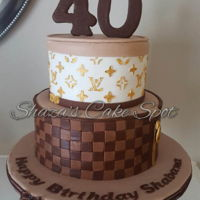 Louis Vuitton Birthday Cake 40th birthday