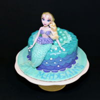 Mermaid Cake Mermaid Cake