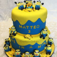 Minion Cake All edible.