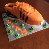 Trainer Birthday Cake For my grandsons 12th birthday