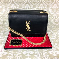 Ysl Clutch Made this YSL clutch for a young lady who couldn't get her dream bag for her birthday...the cake just had to do