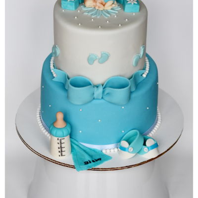 Baby Boy Shower Cake !!