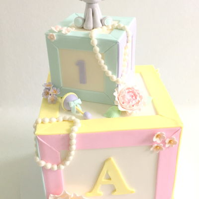 Baby Shower Letter Blocks