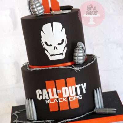 Call Of Duty Black Ops Iii Cake